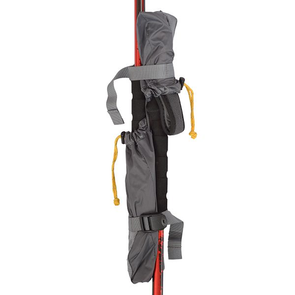 Pole Union™ with trekking poles inserted