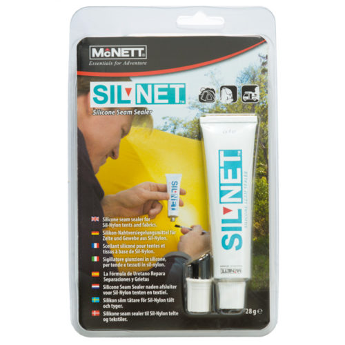 Sil Net silicone seam sealer, 28g tube with brush cap