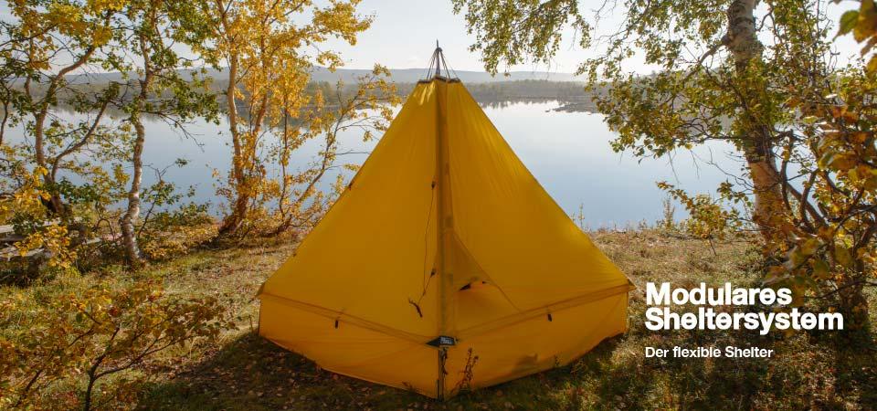 Shelter bei See - Designe, Gestalte, Passe ihn den Bedingungen an