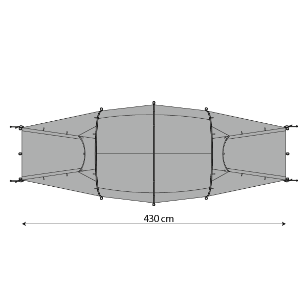Illustration of plan of Quadratic All-Year Outer