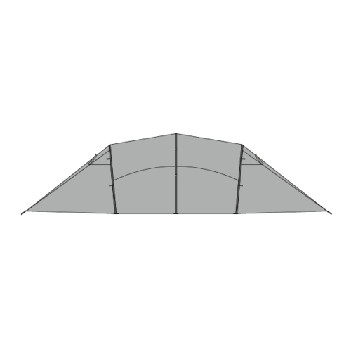 Illustration of side of Quadratic All-Year Outer
