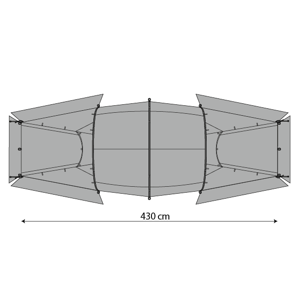 Illustration of plan of Quadratic Snow Outer