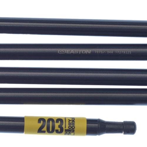 """Quadratic Top Pole: 203 cm Long, Easton Nanolite 0.344""""/8.7 mm, Detail"""