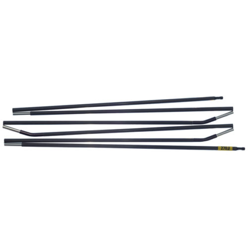 Quadratic Main Pole: 270 cm Long, Easton Custom Carbon, Flat