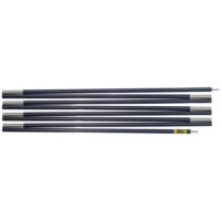 "Quadratic Side Pole: 366 cm Long, Easton Expedition Aluminium 0.433""/11.0mm, Flat"