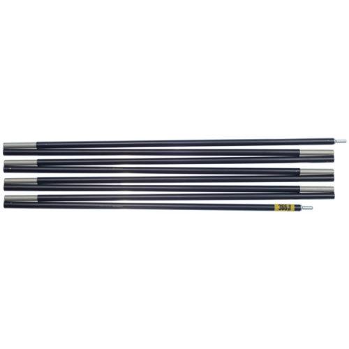 "Quadratic Side Pole: 366 cm Long, Easton Expedition Aluminium 0.433""/11.0mm, Flat"