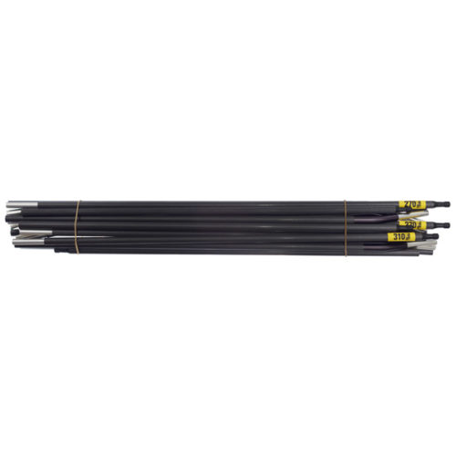 Quadratic Main Pole Set: 2x 270 + 1x 310 cm Long, Easton Custom Carbon, Bundle