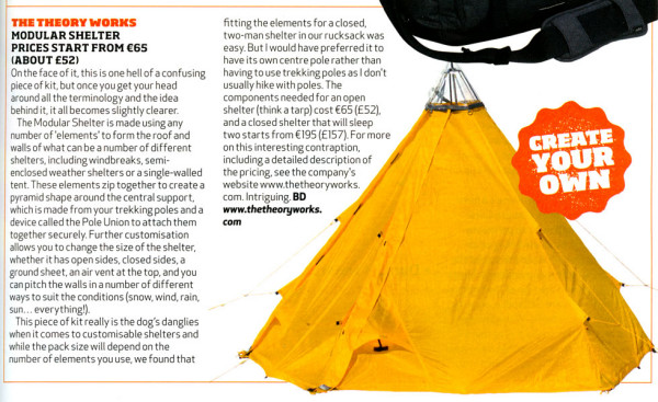 Adventure Travel Magazine feature - Jul/Aug 2014