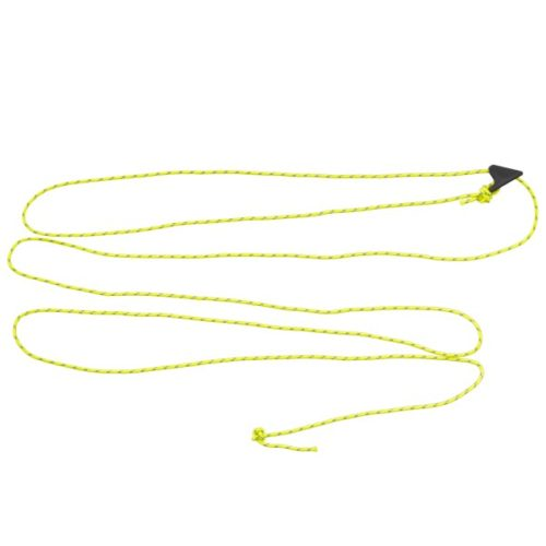 2m length of Guy Cord 2.2mm, Yellow, with a Line-Lok® Adjuster