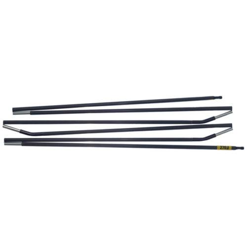 Quadratic Main Pole: 270 cm Long, Easton Custom Carbon, Flat