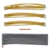 "Quadratic Main Pole Set: 2x 270 + 1x 310 cm Long, Easton Expedition Aluminium 0.355"", Easton Pole Repair Sleeve, Pole Bag"